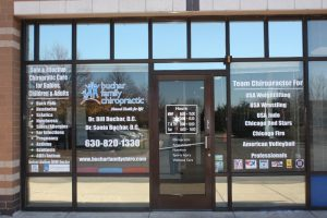 Chicago Office Signs Copy of Chiropractic Office Window Decals 300x200