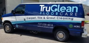 Bedford Park Vinyl Printing Vehicle Wrap Tru Clean 300x146