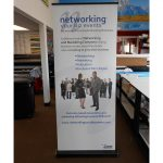 Justice Trade Show Displays banner vinyl tradeshow retractable indoor 150x150