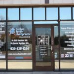 Evanston Window Graphics Copy of Chiropractic Office Window Decals 150x150